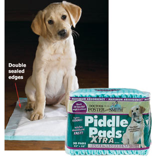 This image has an empty alt attribute; its file name is piddlepads.jpg