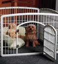 This image has an empty alt attribute; its file name is puppyplaypen.jpg
